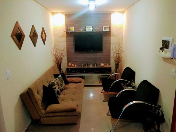 Apartamento Em Vila Curuçá, Santo André/sp De 57m² 2 Quartos À Venda Por R$ 270.000,00 - Ap535756