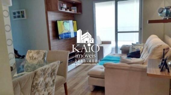 Apartamento Mobiliado De 72m² Com 3 Dormitórios 2 Vagas, Macedo - Ap1142