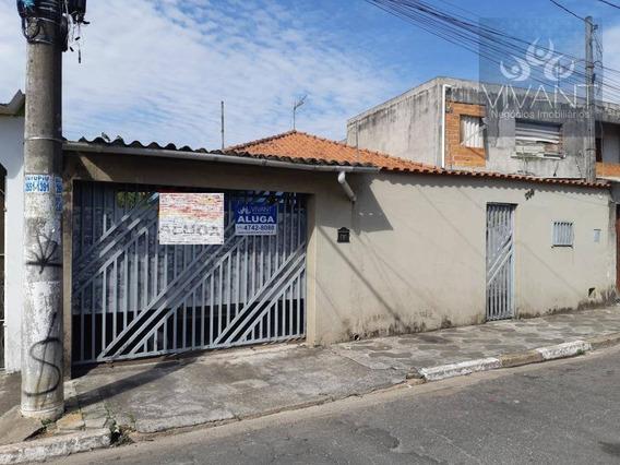 Casa Com 3 Dormitórios Para Alugar, 121 M² Por R$ 1.500/mês - Cidade Edson - Suzano/sp - Ca0201
