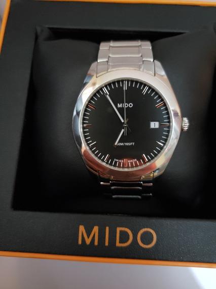 Reloj Mido Para Caballero Cuarzo Original No Tissot Longines
