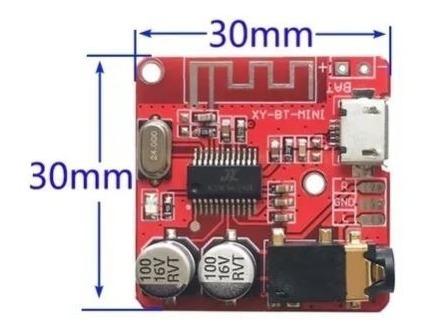 Placa Receptor Decodificador De Áudio Bluetooth 4.1