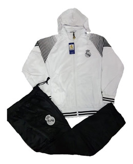 Conjunto Agasalho Real Madrid 2019 Foto Real