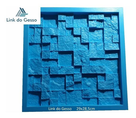 Forma De Silicone 3d Pedra Gesso Mosaico São Tomé Travertino