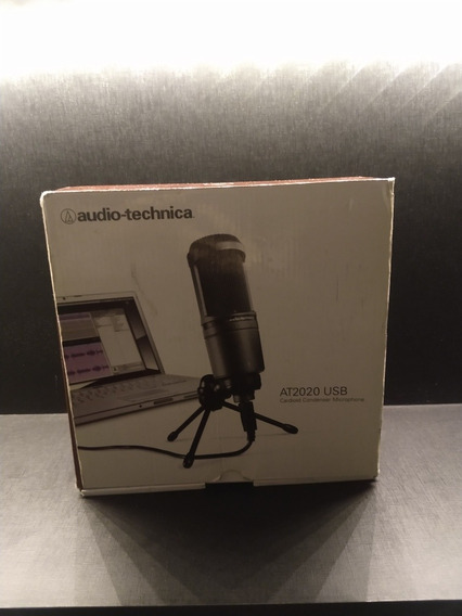 Microfone Condensador Audio Technica At2020-usb