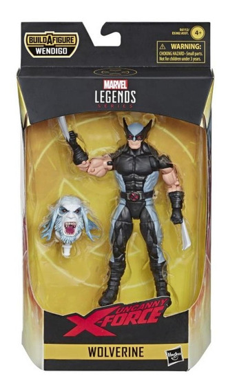 Marvel Legends Series Wolverine X Force Wave Wendigo Lacrado