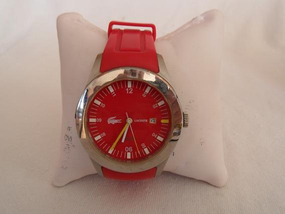 Reloj Para Hombre Lacoste Rojo