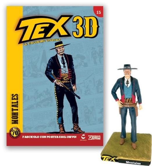 Colecao Tex 3d - Miniatura 15 - Montales - Bonellihq M20