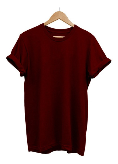 Blusa Feminina Plus Size Lisa Básica Camiseta Tshirt Algodão