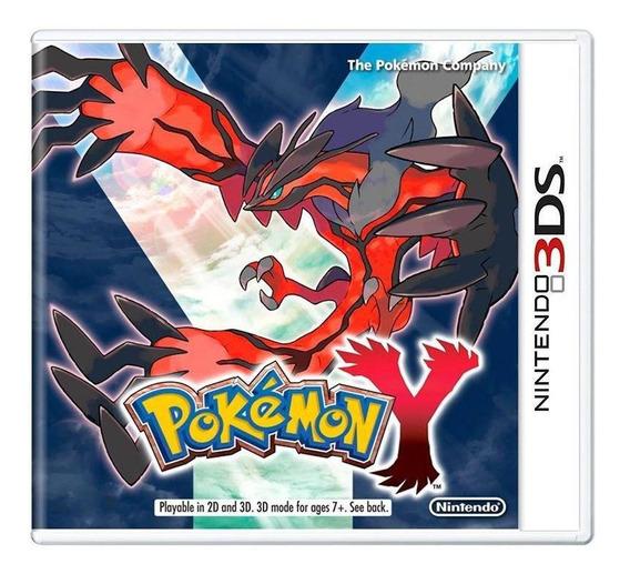 Pokémon Y 3ds Mídia Física Pronta Entrega