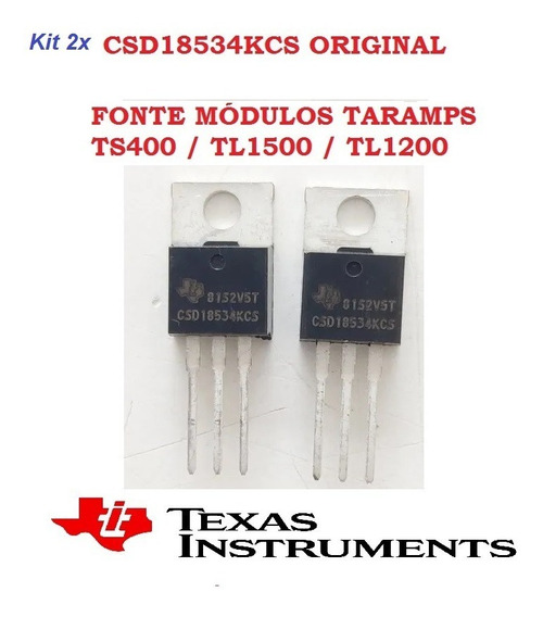 2pcs Csd18534kcs Original Taramps