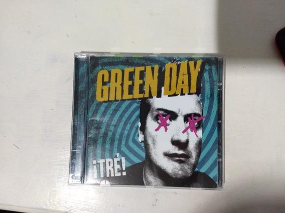 Green Day Tre (cd) Usado Casi Nuevo