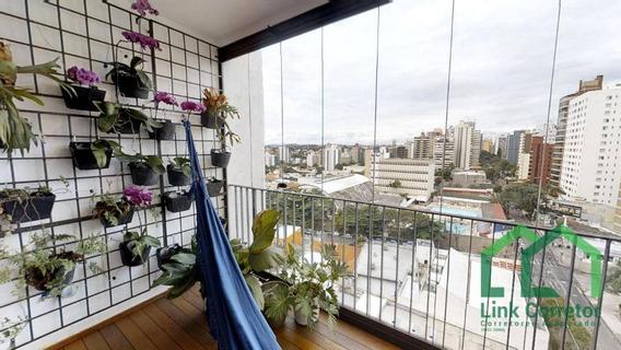 Cobertura Inteira Reformada Com 3 Dormitórios À Venda Por R$ 4.400.000 - Cambuí - Campinas/sp - Co0019