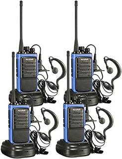 Radio De Dos Vías Arcshell Walkie Talkie 4pz -azul