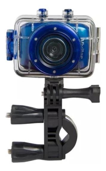 Câmera Filmadora De Ação Hd Camcorder - Azul