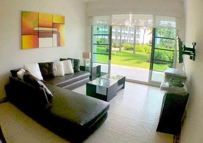 Cad Mayan Lakes 8-101 Terraza Con Acceso A Jardín Y Albercas