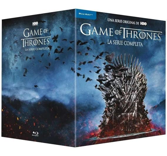 Game Of Thrones La Serie Completa Bluray 1-8 Box Set Hbo