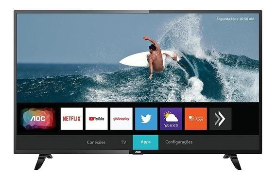 Smart Tv 43 Aoc Led 43s5295 Full Hd, Wifi, 2 Usb, 3 Hdmi