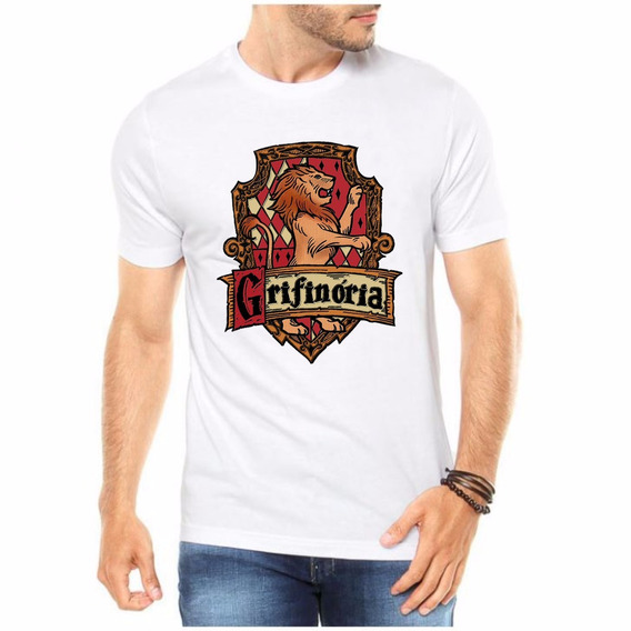 Camiseta Harry Potter - Grifinória - Moda Geek