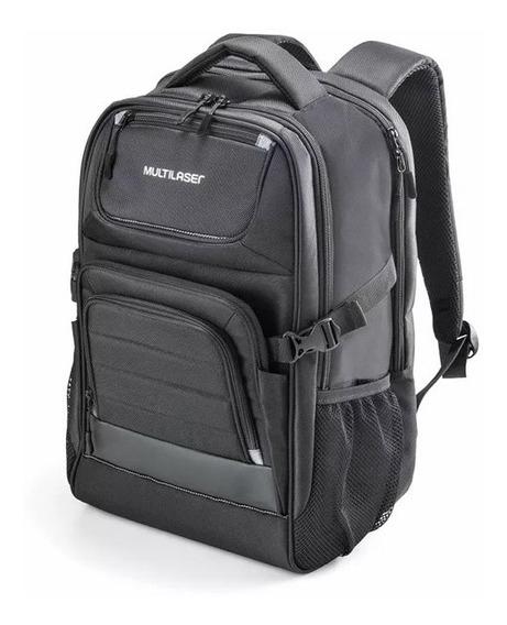 Mochila Armor Para Notebook Preta Até 15.6 Pol. Multilaser -