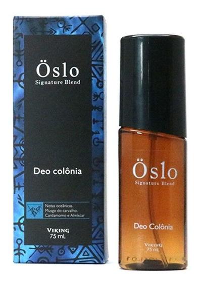 Deo Colônia Oslö - Notas Oceânicas 75 Ml Barber Shop Viking