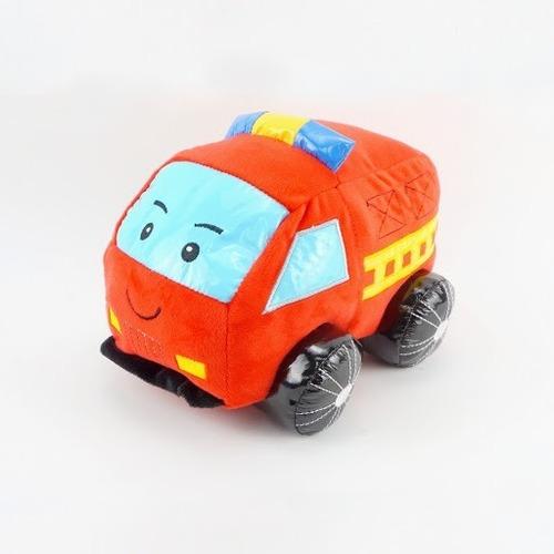 Imagen 1 de 2 de Auto Camion Bomberos Sonido Peluche Woody Toys @ Mca