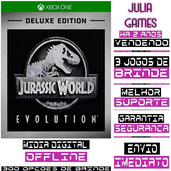 Jurrasic World Evolution Deluxe Xbox One Digital + Brinde