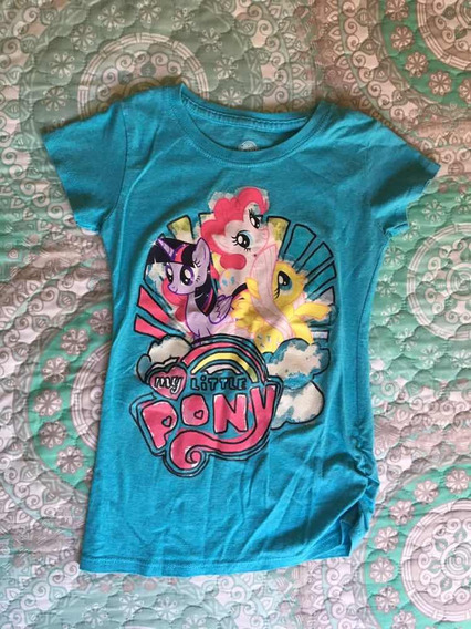 Playera Azul De Niña My Little Pony Talla M