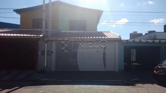 Venda-casa-sobrado=03 Dormitorios-vila Industrial-mogi Das Cruzes - V-528