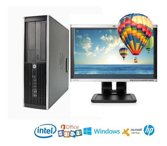 Computadora Barata Core2 Duo 4gb/500gb, Monitor 19¨ Wifi