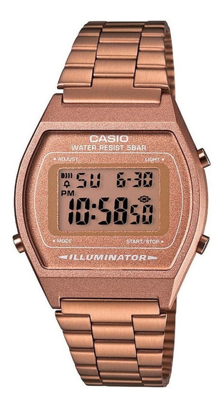 Relógio Casio Rose Vintage Retro B640wc 5adf Frete Grtais