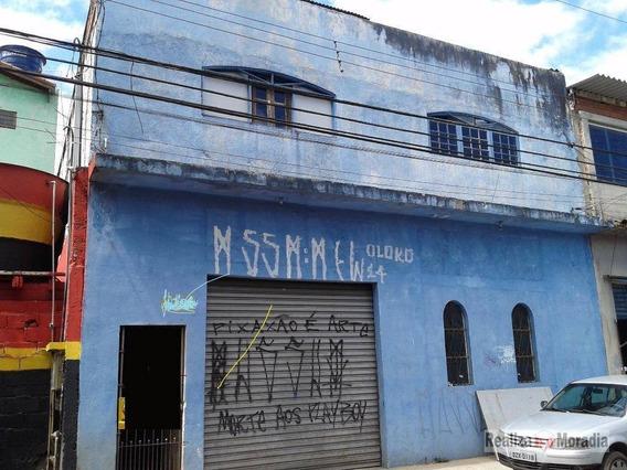 Salão Comercial À Venda Com Edícula - Jardim Do Engenho, Cotia. - Sl0001