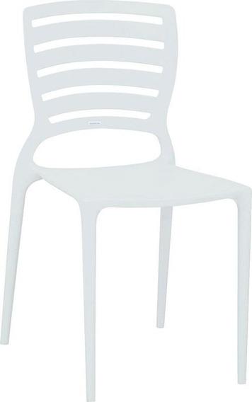 Cadeira Sofia Encosto Vazado Hz Branco