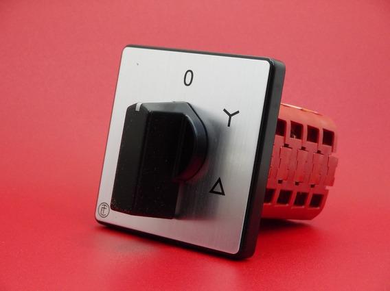 Interruptor Rotativo Trifásico Estrella-delta Elektra
