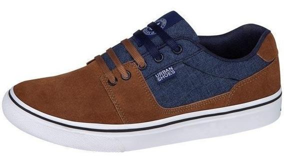 Tenis Casual Urban Shoesgris Hombre Urbano-8ba778