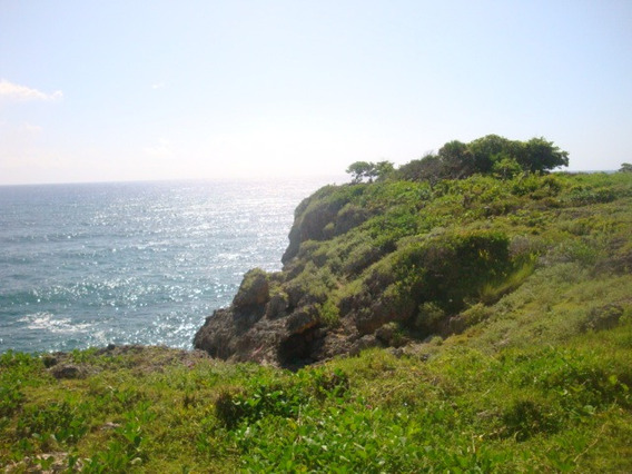 Ocean Front Lot In Cabrera