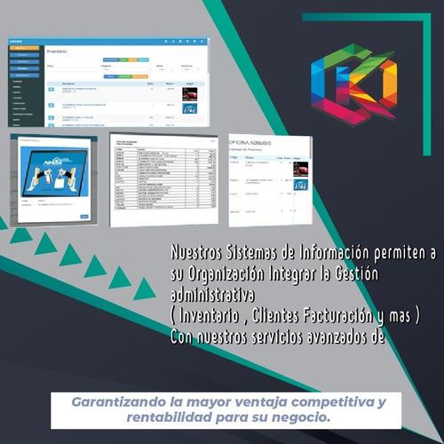 Sistema Administrativo Pro + Tienda Online + App