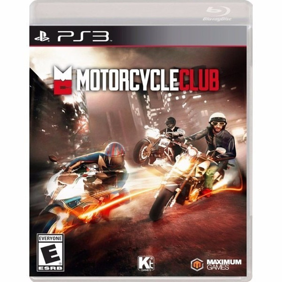 Game Ps3 Motorcycle Club - Original - Novo - Lacrado