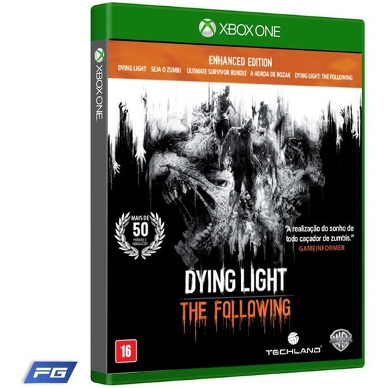 Dying Light The Following Xbox One Dublado Pt Br Física