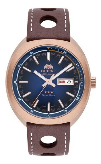 Relógio Orient Automático Masculino Couro 469rp082 D1mb