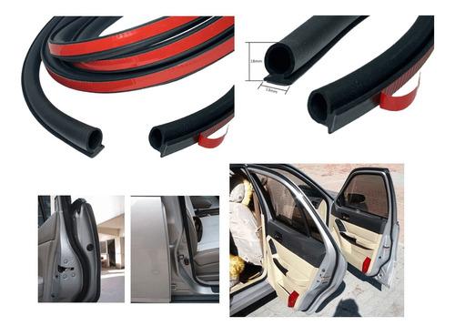Imagem 1 de 8 de Borracha Porta Colar Auto Adesiva Vedação Universal 10 Mts