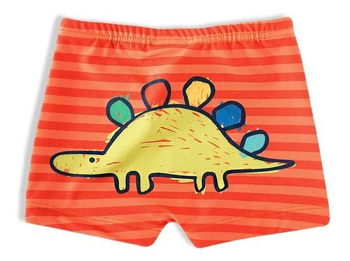 Imagem 1 de 6 de Sungão Bebe Menino Shorts Praia Tip Top Proteção Solar  50+