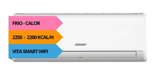 Aire Acondicionado Surrey 2650w Frio Calor Smart Wifi 18