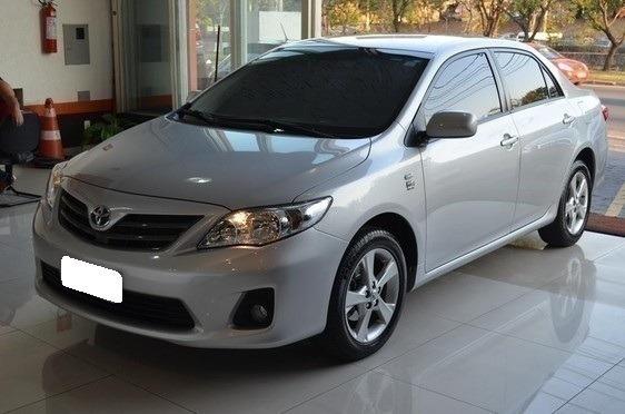 Toyota Corolla 1.8 Gli Prata 16v Flex 4p Automático 2013