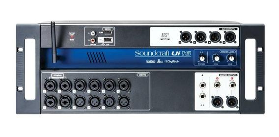 Mesa De Som Soundcraft Digital Ui-16