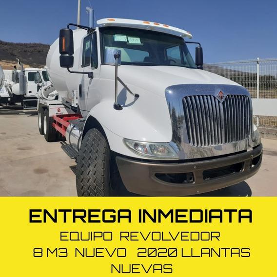 Camión Revolvedora De Concreto Olla Internacional 8m3 2020