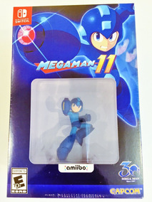 Megaman 11 Amiibo Mega Man 11 Edition Jogo Nintendo Switch