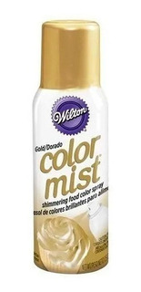 Color Mist Wilton En Aerosol Comestible Dorado - No Full