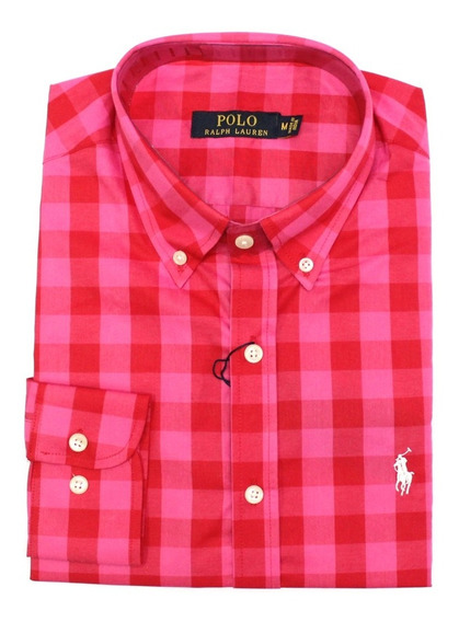 Camisa Social Ralph Xadrez Diferentes Modelos