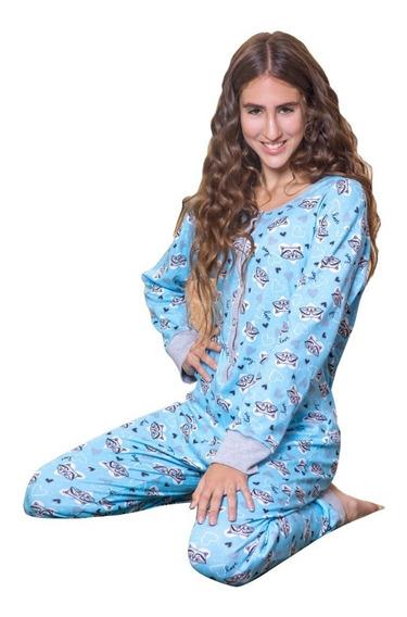 Pijama Enterito Mujer Invieno Mono 629
