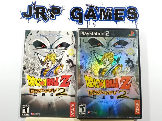 Dragon Ball Z Budokai 2 Original Americano Ps2